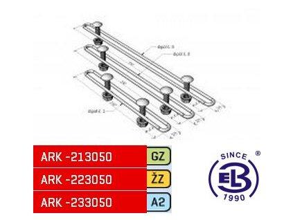 Sada tvarovací MERKUR 2, TSM 50-100 ARK - 213050 GZ, ARKYS