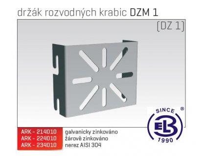 Držák rozvodných krabic MERKUR 2, DZM 1 ARK - 224010 ŽZ, ARKYS
