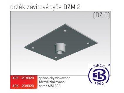 Držák závitové tyče MERKUR 2, DZM 2 ARK - 234020 A2, ARKYS