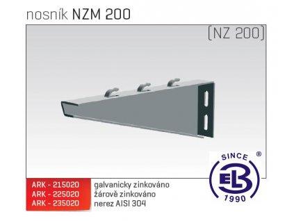 Nosník MERKUR 2, NZM 200 ARK - 235020 A2, ARKYS