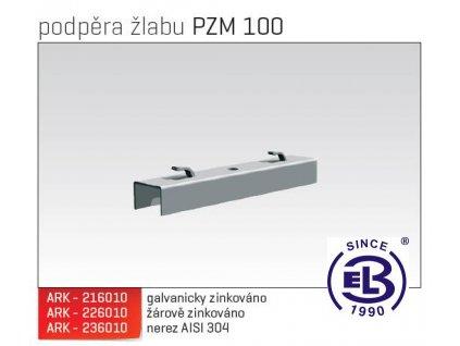 Podpěra žlabu MERKUR 2, PZM 100 ARK - 226010 ŽZ, ARKYS
