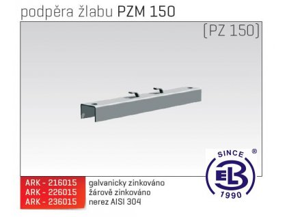 Podpěra žlabu MERKUR 2, PZM 150 ARK - 226015 ŽZ, ARKYS