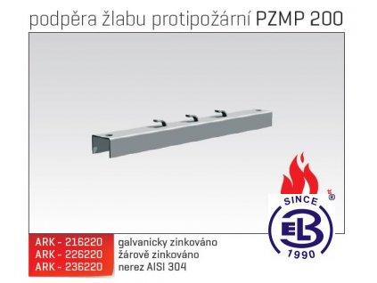 Podpěra žlabu protipožární MERKUR 2, PZMP 200 ARK - 216220 GZ, ARKYS