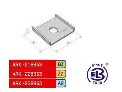 Příchytka vymezovací MERKUR 2, PVM ARK - 228953 ŽZ, ARKYS