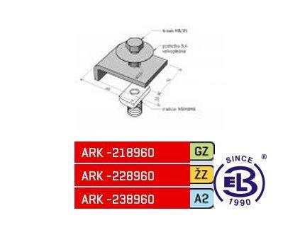 Příchytka k I profilu MERKUR 2, PIM ARK - 228960 ŽZ, ARKYS