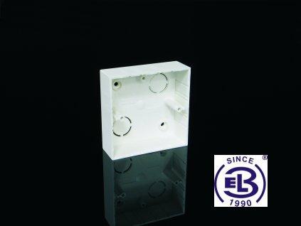 Krabice přístrojová LK 80x28/1 82x82x28 KOPOS