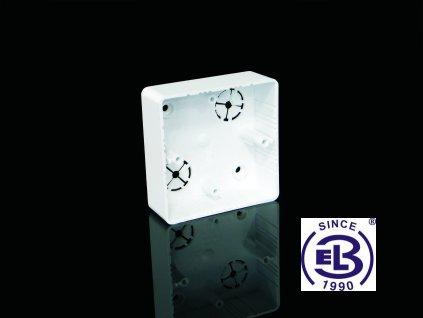 Krabice přístrojová LK 80x28R/1HF, 81x81x28 KOPOS