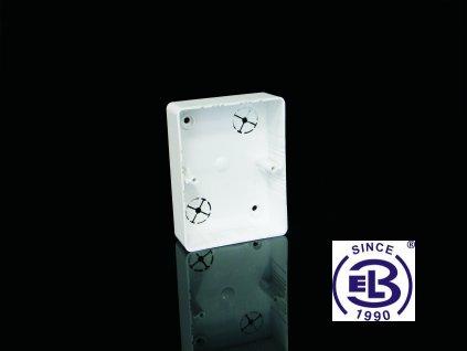 Krabice přístrojová LK 80x28 2ZKHF, 104x80x28 KOPOS