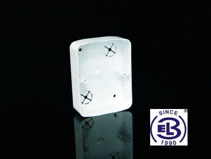 Krabice přístrojová LK 80x28 THF, 80,5x80,5x28 KOPOS
