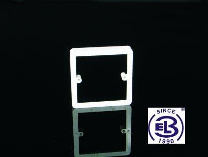 Rámeček nástavný 80,5x80,5x12, NR 80/R KOPOS