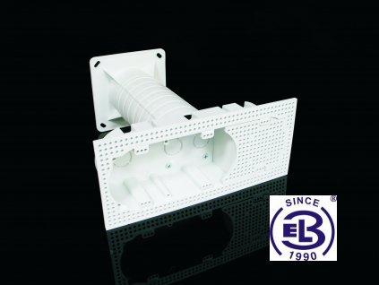Krabice elektroinstalační vícenásobná do zateplení 120x235x250, KEZ-3 KOPOS