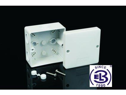 Krabice s IP krytím, 81x81x50, KSK 80 KOPOS
