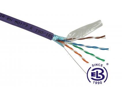 Kabel datový Cat 5E FTP LSOH balení 500m SOLARIX