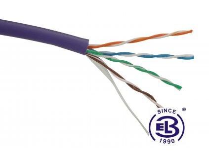 Kabel datový Cat 5E UTP LSOH SOLARIX / metráž