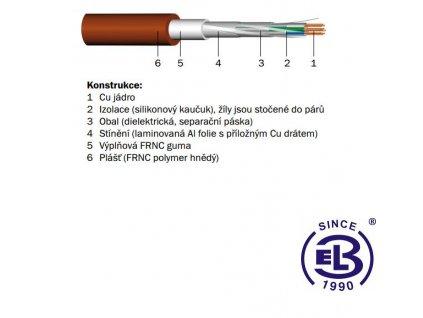 Kabel PRAFlaGuard F PH120-R 4x2x0,5 PRAKAB