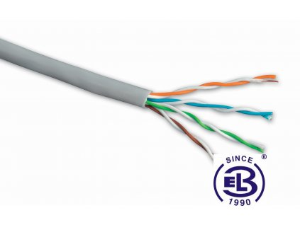 Kabel datový Cat 5E UTP PVC SOLARIX / metráž