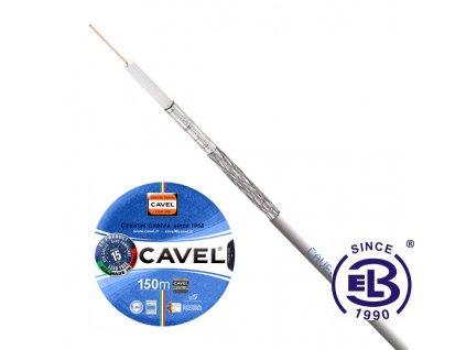 Kabel koaxiální SAT 501 PVC balení 150m CAVEL