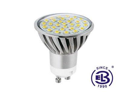 Žárovka LED30 SMD 2835 GU10 5W - CW studená bílá 525lm