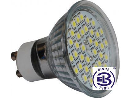 Žárovka LED38 SMD 2835 GU10 4W - CW studená bílá 420lm
