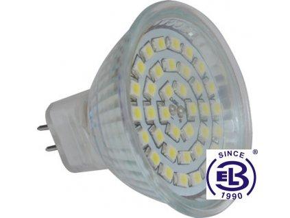 Žárovka LED36 SMD 2835 MR16 4W - CW studená bílá 420lm