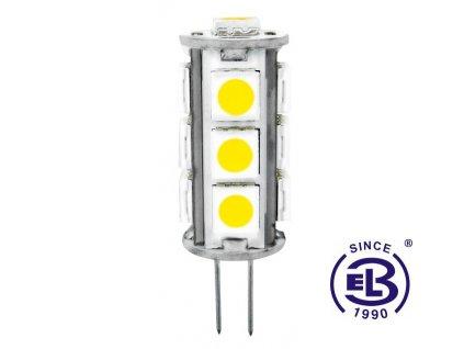 Žárovka LED 13 SMD 2835 JC 2W - CW studená bílá 245lm