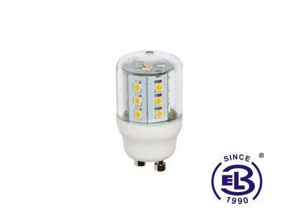 Žárovka LED 23 SMD 2835 GU10 2,6W - WW teplá bílá 305lm