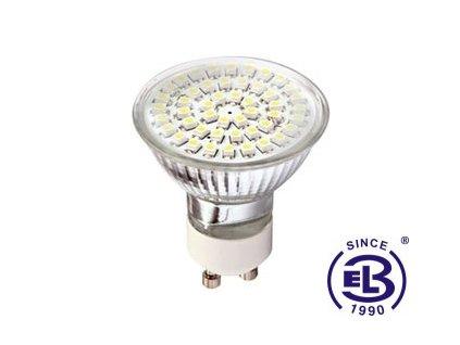 Žárovka LED48 DAISY SMD 3528 GU10 3,5W - CW studená bílá 190lm