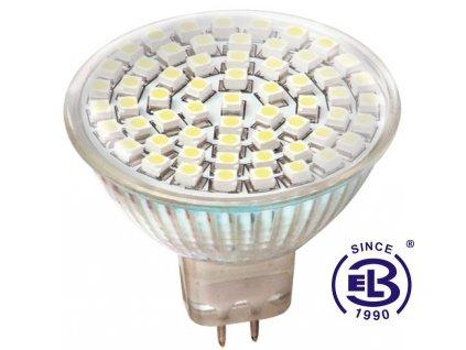 Žárovka LED60 DAISY SMD 3528 MR16 4W - CW studená bílá 220lm