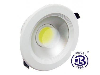 Svítidlo vestavné LED MCOB LYRA White 12W - CW studená bílá 800lm
