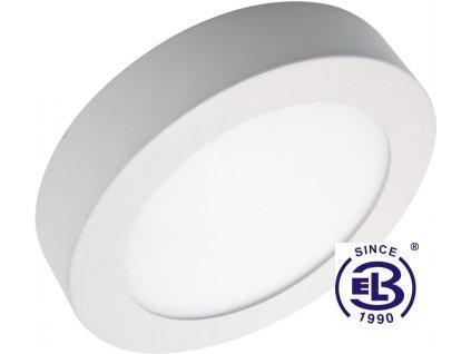 Svítidlo přisazené LED60 FENIX ROUND Silver 18W - WW teplá bílá 1450lm