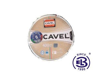 Kabel koaxiální SAT 501 PVC balení 400m CAVEL