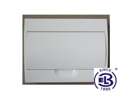 Rozvaděč 12 modulů na omítku bílá dvířka STI469-12 IP30 STILO