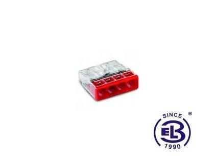 Svorka Wago 4x0,5x2,5mm