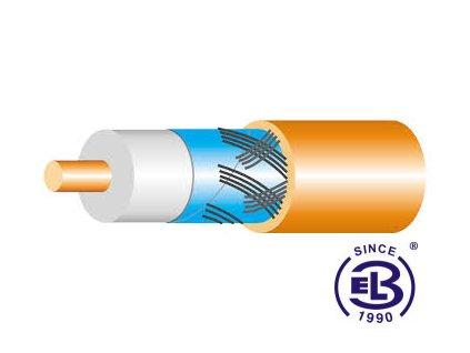 Kabel koaxiální VCCJE-R 75 - 4,8 bezhalogenní