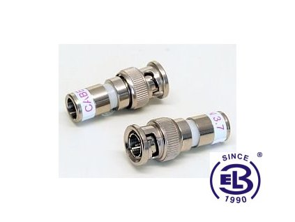 Konektor BNC M CX3 3.7 kompresní CABELCON
