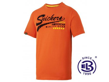 Triko s krátkým rukávem limitovaná edice, Snickers Workwear