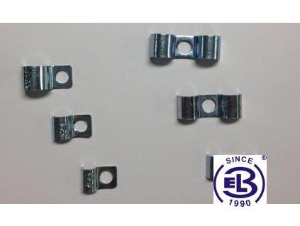 Příchytka P90-R pro 1 kabel pr. 8mm HL P1_08