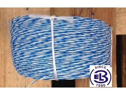 U drát 2x0,5 bílá - modrá balení 500m Lamela ČR - česká výroba