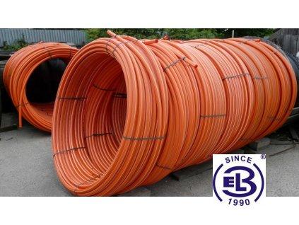 Trubka optická HDPE 40/3,5 oranžová