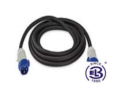 Kabel k nabíjecí stanici zásuvka TYP3A 16A 1P a vidlice TYP3A 16A 1P 5m SCAME