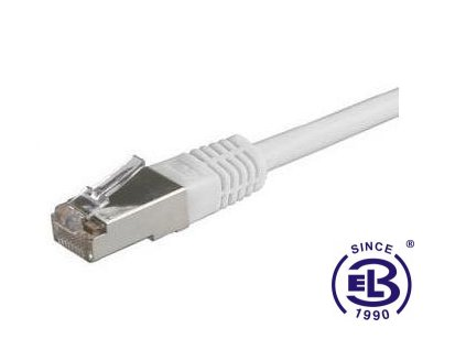 Patch kabel 10G CAT6A SFTP LSOH 10m šedý, non-snag-proof, SOLARIX