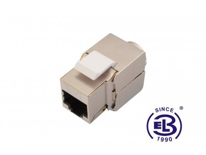 Keystone zařezávací 10G Cat6A STP SOLARIX