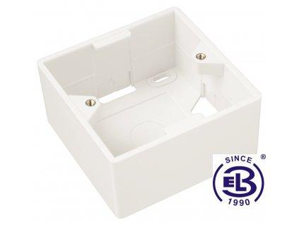 Box na omítku pro zásuvky SX9 bílý