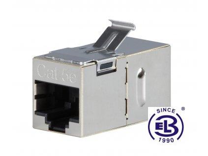 Spojka panelová Cat5E STP 8p8c RJ45/RJ45 KRJ45/5S-SH