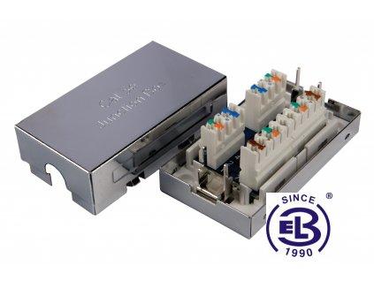 Spojovací box Cat5E STP 8p8c LSA+/Krone KRJS45-VEB5 SOLARIX