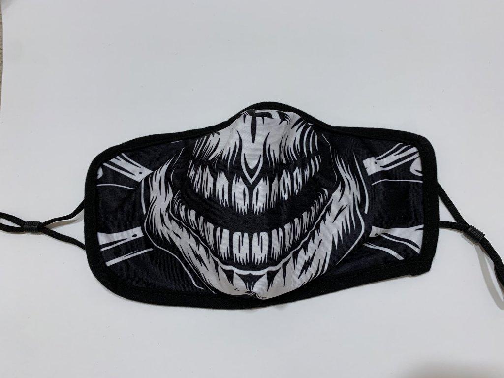 Rouška Zuby