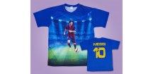 Tričko, dres Messi (Velikost 116 cm (3-4 roky))