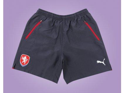 Fotbalové trenky ČR černé puma (Velikost XXL)