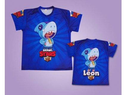 Brawl Stars Leon modrý