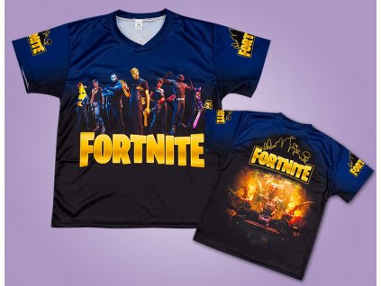 WEB triko Fortnite black
